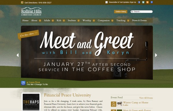 Church Website Design web design Arch...