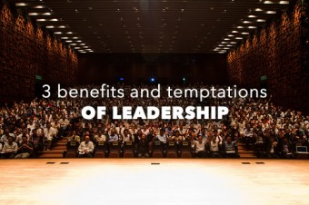 Temptations of Leadership
